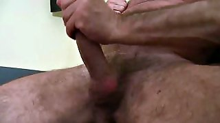 Hairy Daddy With A Big Dick In A Solo Action