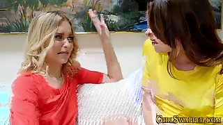 Lesbo Teens And Stepmom