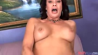 Hairy Milf Squirts During Anal Sex
