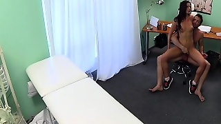 Threesome With Nurse In Hospital