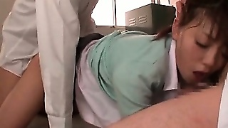 Japanese School Teacher Cunt Banged And Mouth Cock Stuffed