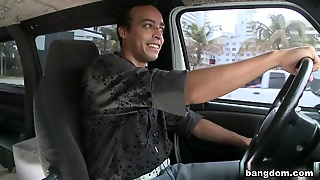 Lisa Ann In Pornstar Lisa Ann Rocks The Bangbus!!