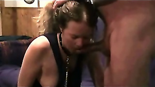 Slave Wife Lick & Mouth Fuck