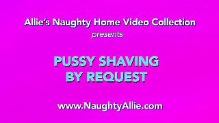 Pussy Shaving By Request