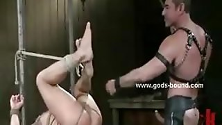 Merciless Strong Masters With Huge Muscles Spanking And Torturing Gay Sex Slave In Bdsm Sex