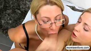 Big Tits Milf Jennifer Best Hot Threeway In The Bedroom