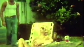 Blonde Woman's Sex Affair With A Boy (1970S Vintage)