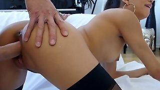 Exotic Veronica Rodriguez Is Hungry For Cock
