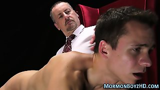 Spanked N Fingered Mormon
