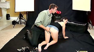 There Is A Long Hard Boner Deep Down Tina Lees Throat While She Is Getting Fingered Up Her Rectum Like Never Before. You Have To See This In Order To Believe It.