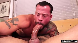 Tattoo Gay Ass To Mouth With Cumshot