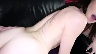 Tight Teen Girl Emma Stoned Pussy Filled With Sticky Jizzum