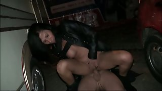 Just Wild Harlot Lady Paris Is Fucked Hard Right On The Parking Lot