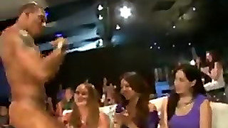 Drunk Chicks Fuck At Stripper Party