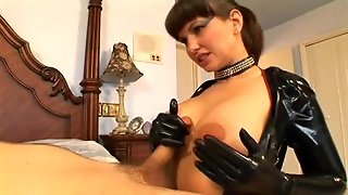 Hot Milf In Latex Outfit
