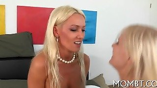 Hot Threesome With A Lusty Mum