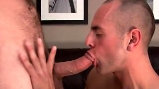 Mature Gay Blowjob With Muscle Studs