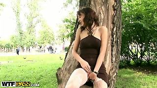 Public Tits Flash And Sex In The Park.