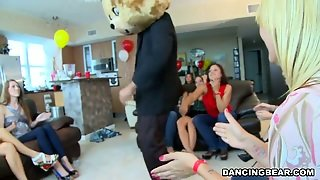 Crazy Party With Dancing Bears