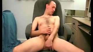 Real Old Daddy Jerking Off On The Camera
