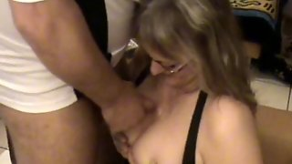 Busty Amateur Wives Sucks And Fucks With Cum On Tits