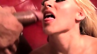 Interracial Pussy Banging And Hot Jizz Shot