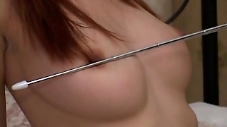 Busty Japanese Enjoying Deep Stimulation