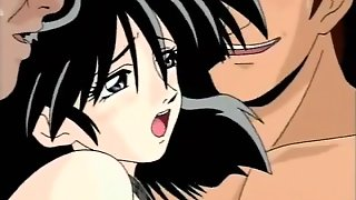 Hentai Girl Double Penetrated Hard As Her Bf Watches