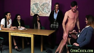 Cfnm Mistress Tugging