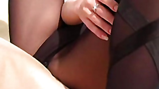 Nicole Ray, Stockings Fetish, Black Fetish, Stockings Black, Pantyhose Over Stockings, Masturbation Fetish, Masturbation With Pantyhose, Pantyhosestockings