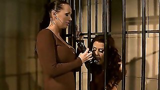 Crazy Bdsm Fuck With Nasty Lesbian Chicks Named Mandy Bright And Sweet Claudia