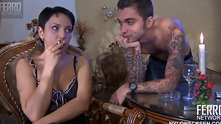Short Haired Mom Gets Pounded By A Tattooed Hunk