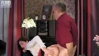 Young Girl Fucked By Old Dude