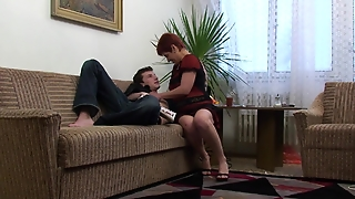 Older Woman With Younger Guy