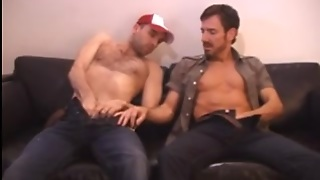 Men On A Couch