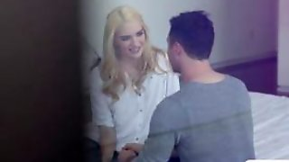 Lustful Babe Kenna James Gets A Hardfuck In The Bed