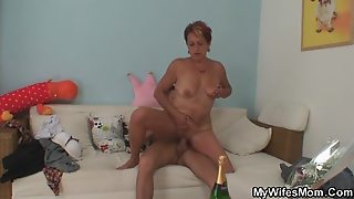 Mom, Why Do You Fuck With My Hubby?