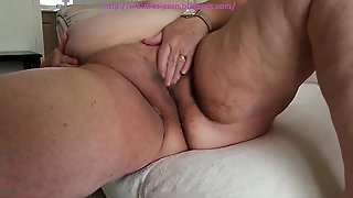 Very Big Grandma Show Her Very Big Ass