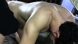 Masseur Seduces Straight Guys Cock