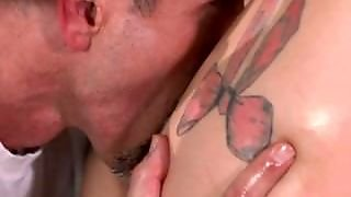 Sensual, Shaved Pussy, Orgasm, Riding, Pussy Eating, Exclusive, Blonde, Oral Sex, Russian, Babe, Tattoo