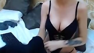 Pretty Brunette Anal Fingering Webcam Chat