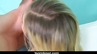 Therealworkout Fit Blonde Lia Lor Fucked Facialized
