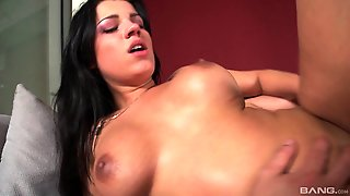 Angel Rivas Is One Of Those Latinas Who Really Like The Anal Sex