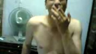 Sexy Arab Chick With Saggy Tits Smoking Before Sex Fun