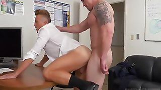 Pubecent Lover Mounts His Gay Get It On Toy Rock Hard We Don\\\\\\'t Smash