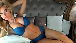 Busty Euro Babe In Denim On Cam Part 1