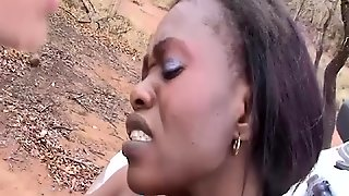 African Babe Needs A Big Cock