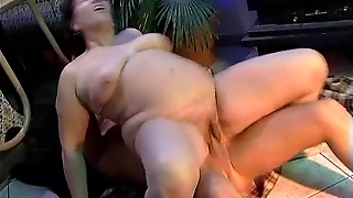Granny Maria's Anal Seduction
