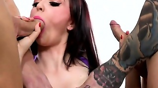 Jasmine James Triple Creampie Hd