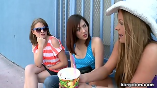 First Time Lesbians